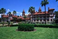 The Ponce de Leon hotel in St. Augustine
